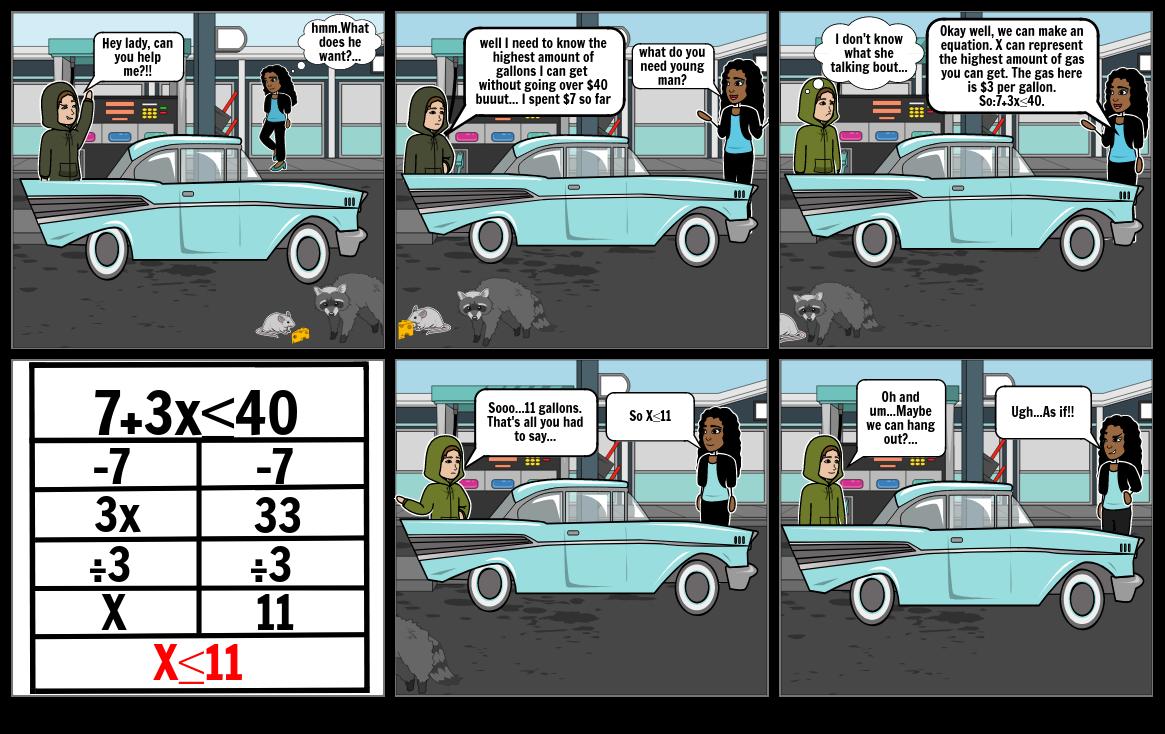 Module 4 project Comic strip.
