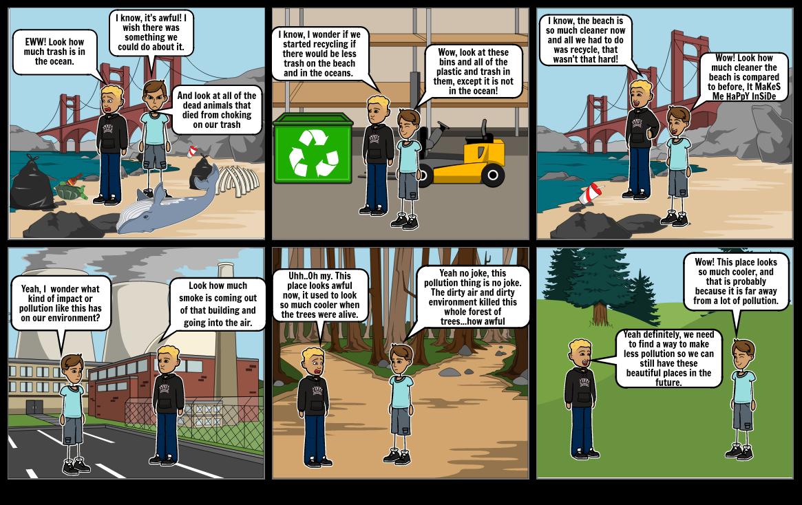 Green Energy Comic