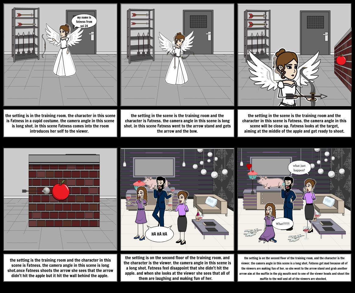 Aim 7C hunger game storyboard