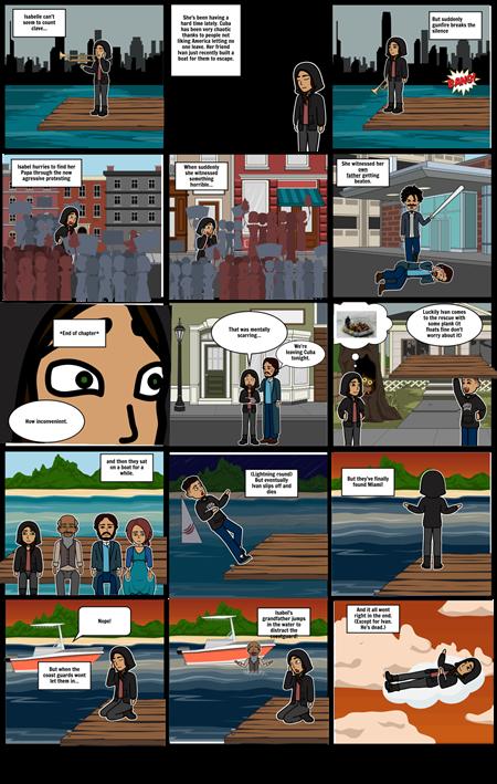 Refugee comic