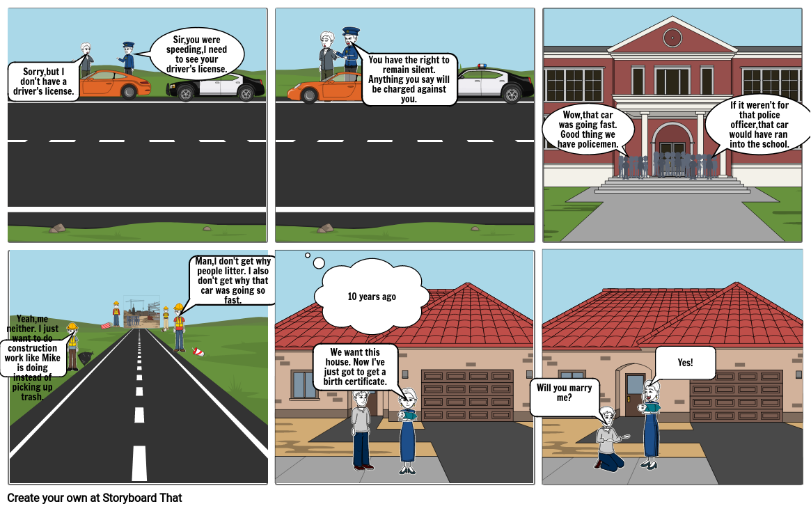 State and local power cartoon strip