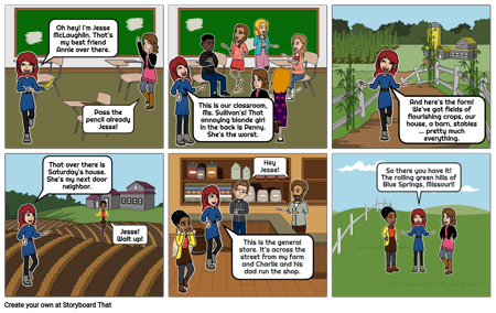 Country Girl 1: Chapter 1: School
