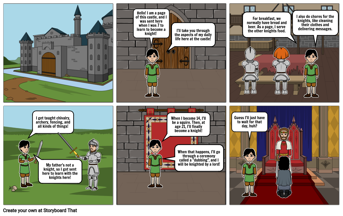 Middle Ages Comic