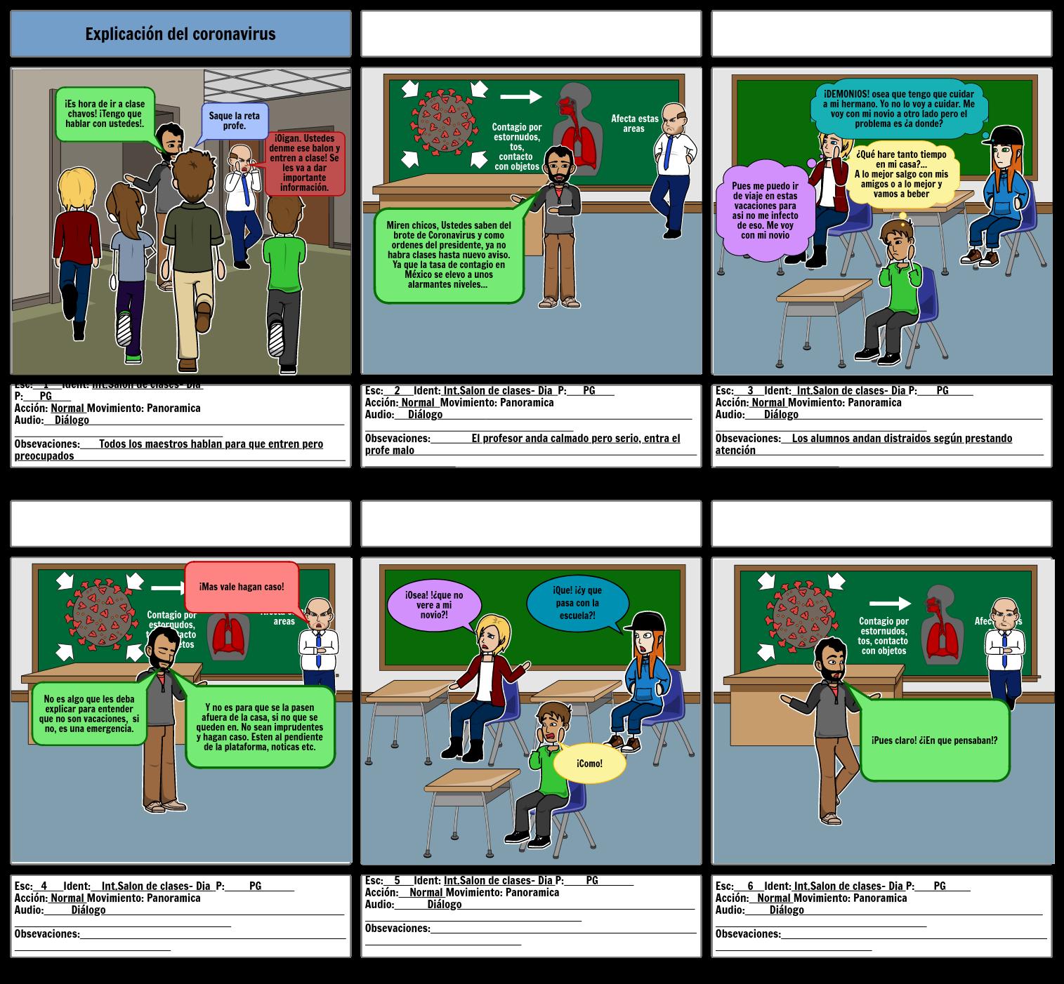 Storyboard comunicación