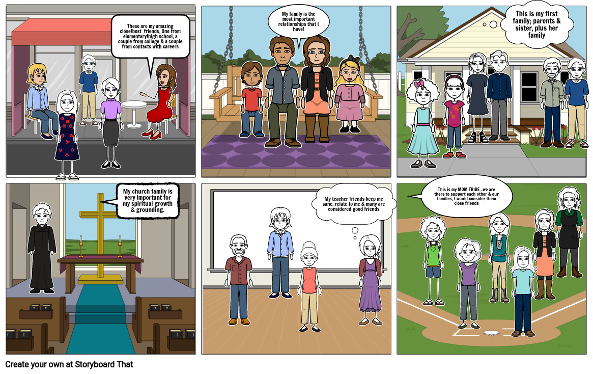 Relationship Storyboard