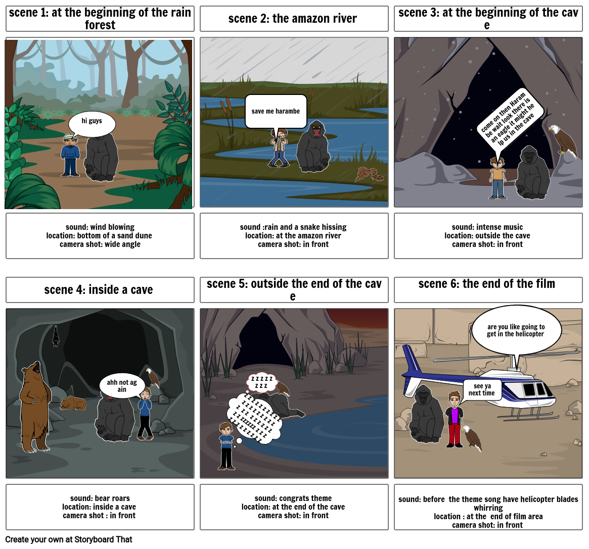 my first storyboard