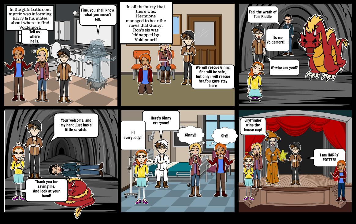 Harry Potter comic strip