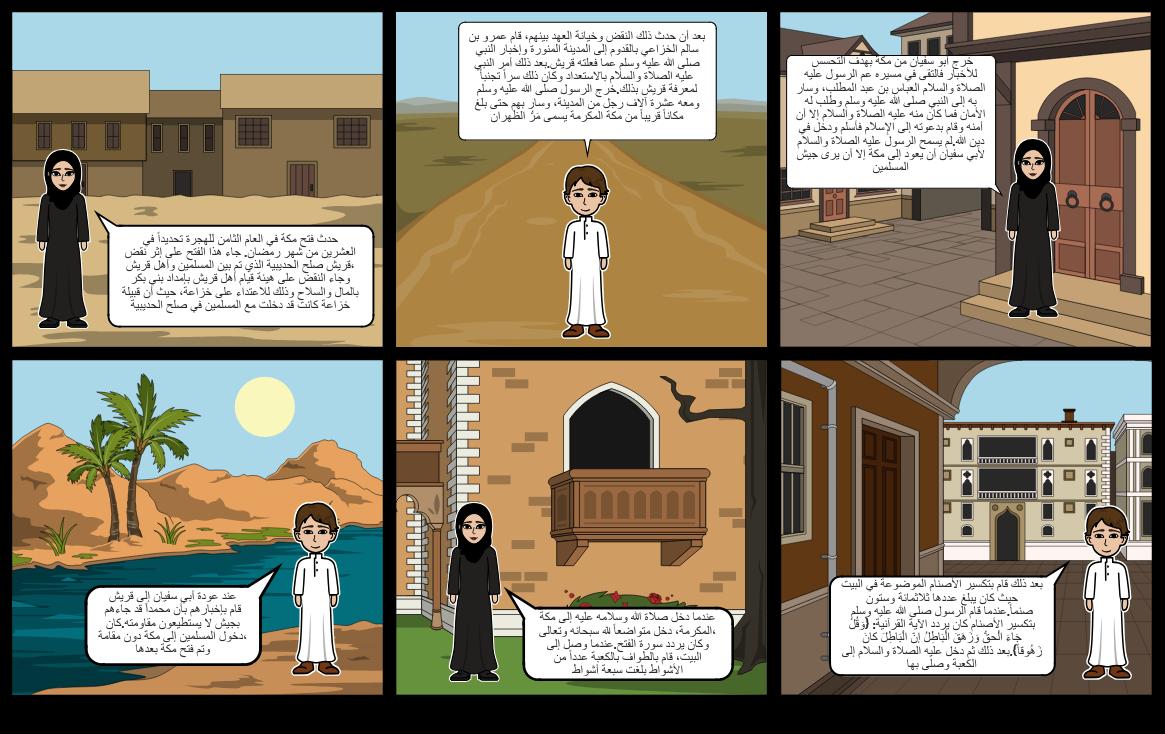 قصة فتح مكة (islamic)