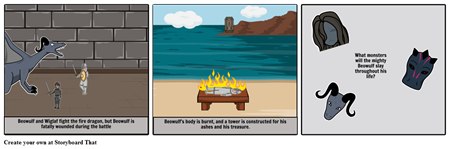 Beowulf storyboard part 2