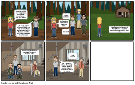 Chapter 13 story board