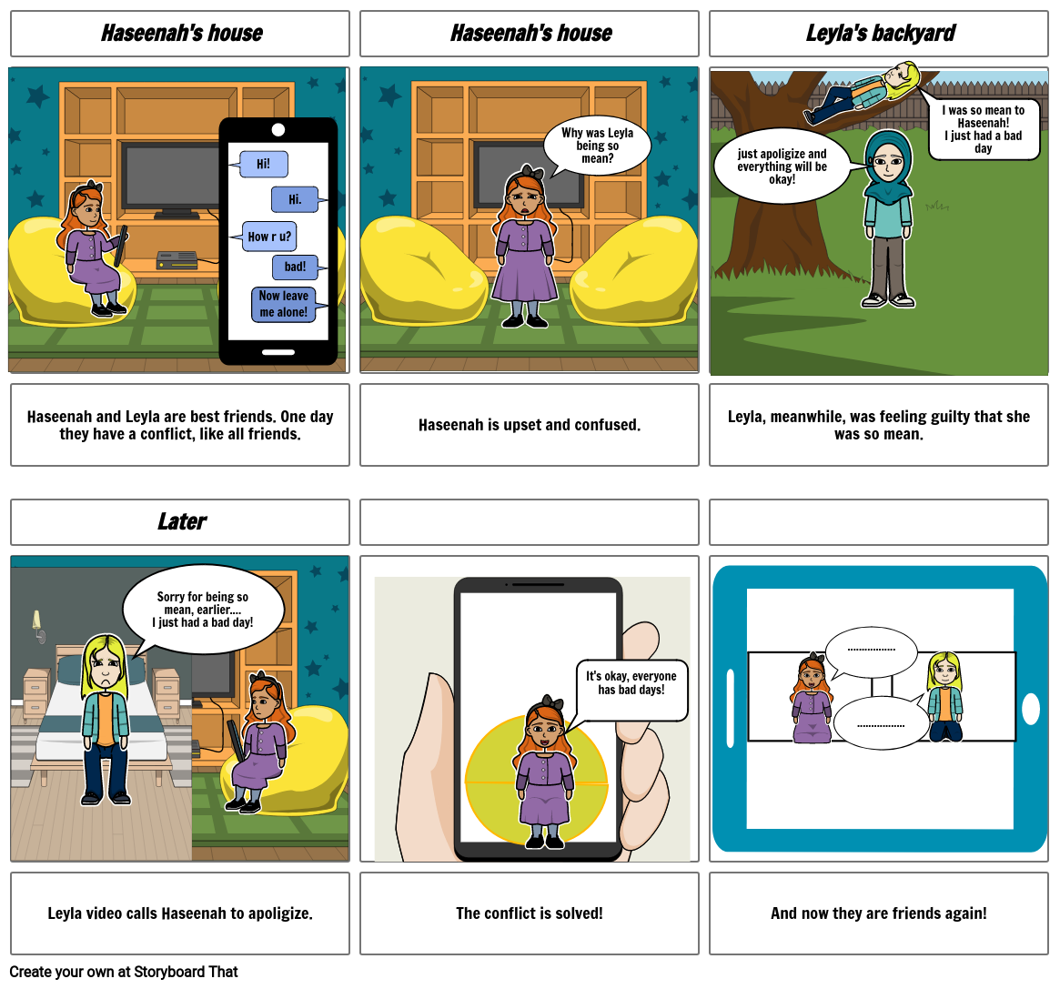 online empathy comicstrip