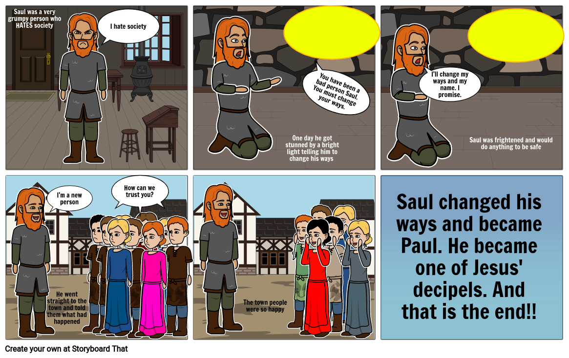 Saul's changing