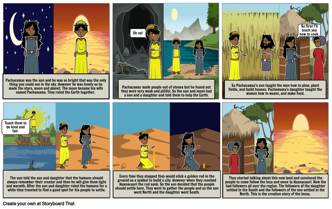 Creation Sories-Incas