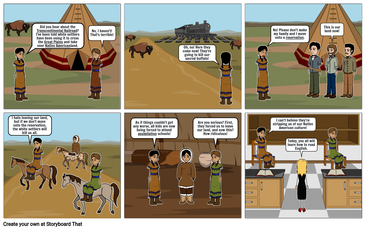 Westward Expansion from an Indian's Perspective