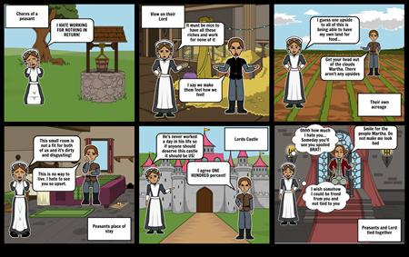 Storyboard Feudalism