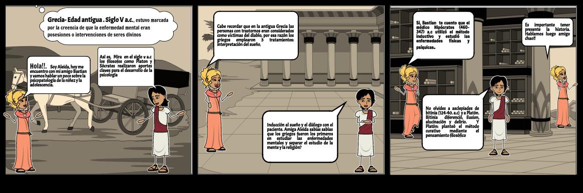La Psicopatología De La Infancia Y La Adolescencia -Grecia - Edad antigua