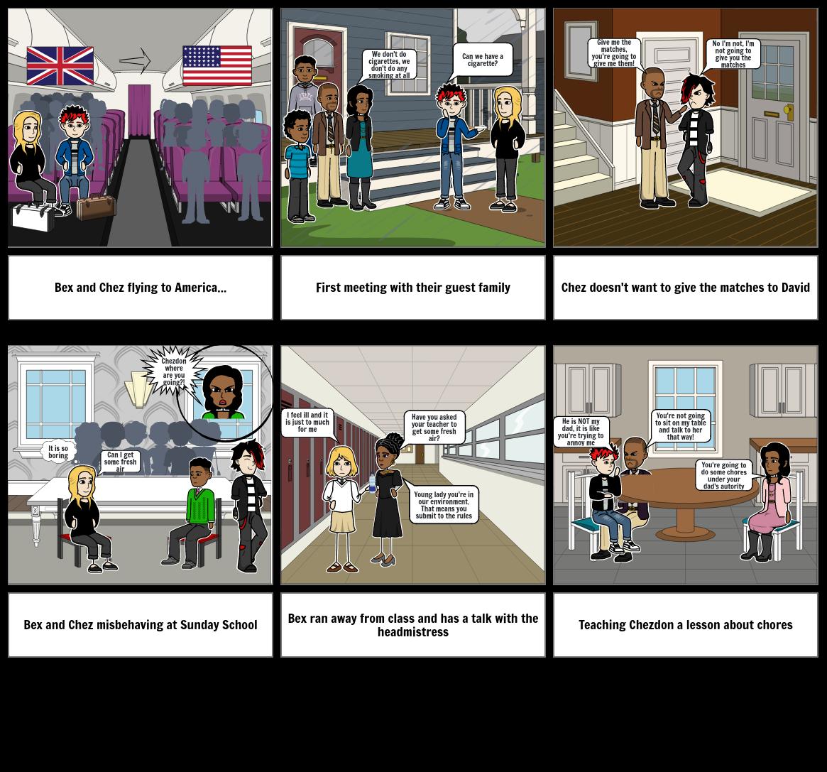 Task english comic story