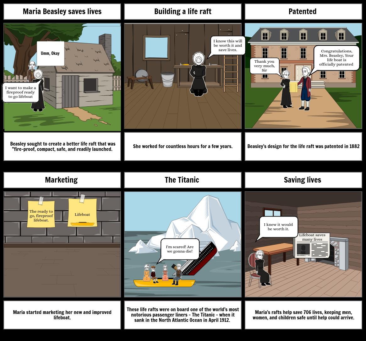 industrial revolution storyboard
