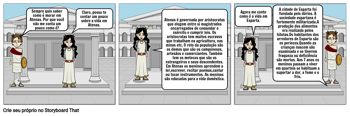 Atenas e Esparta