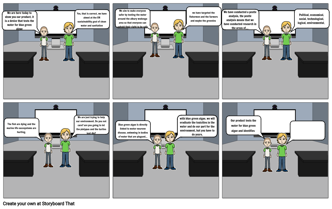 Commerce Storyboard part 1