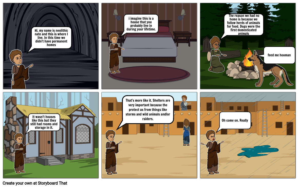 Connor Neolithic Storyboard