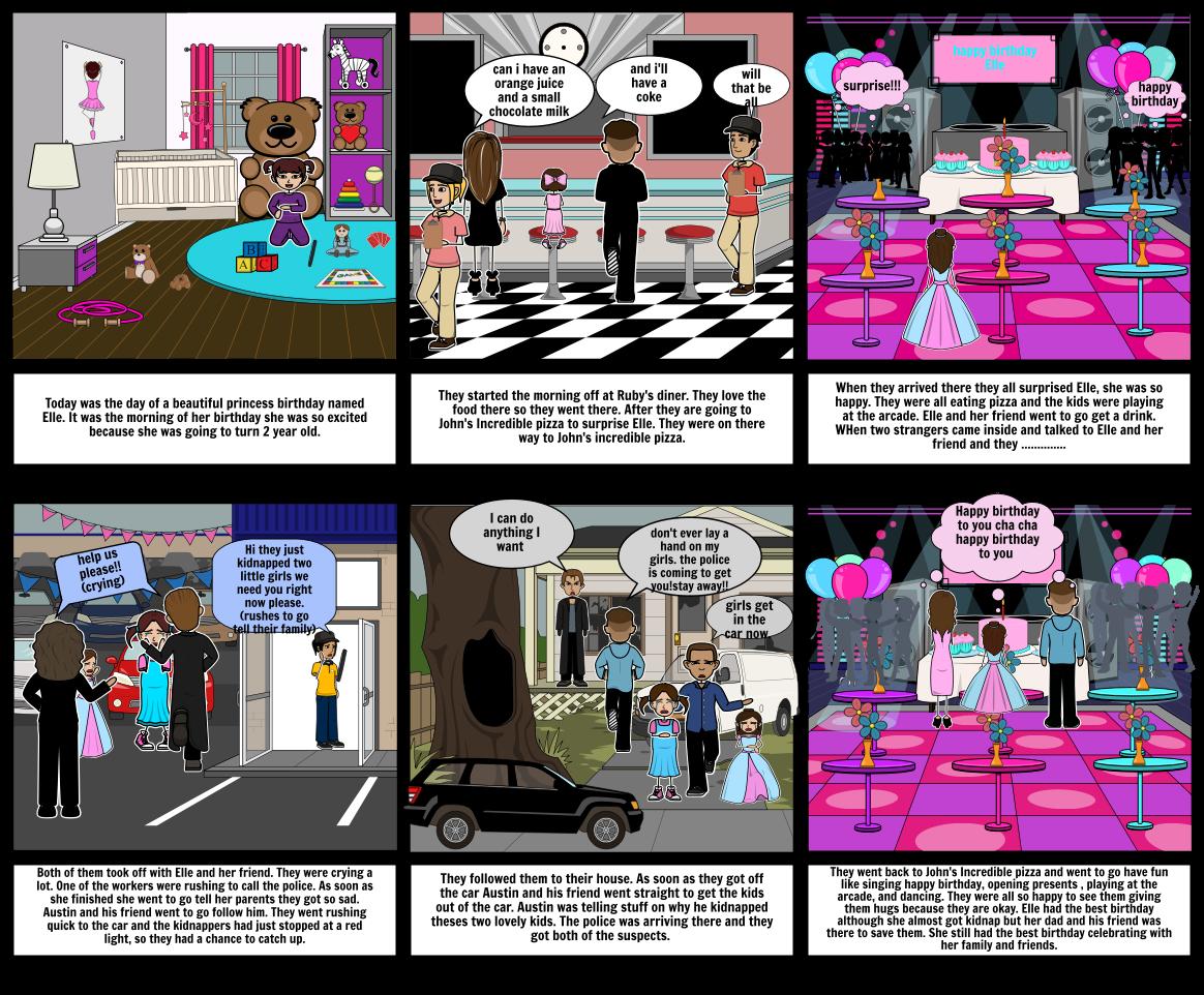 Elle Mcbroom Birthday Storyboard par 2010002064