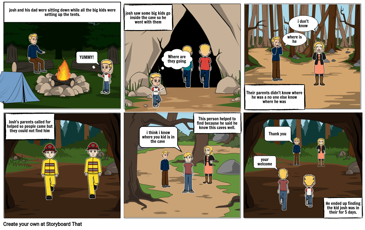 5 days in a mine
