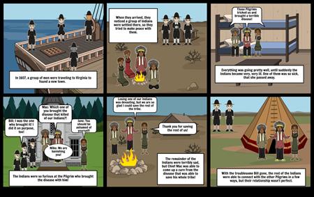 Jamestown: Pilgrims vs. Indians