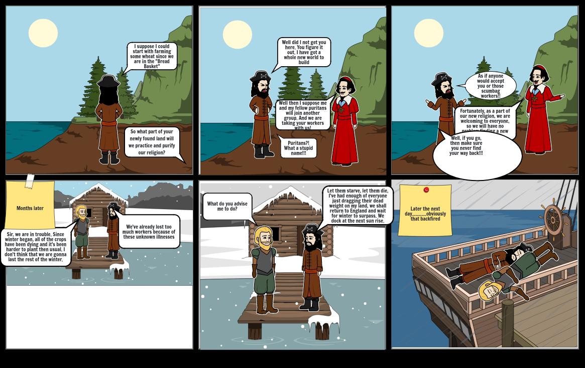 13 Colonies Comic Strip Pt2