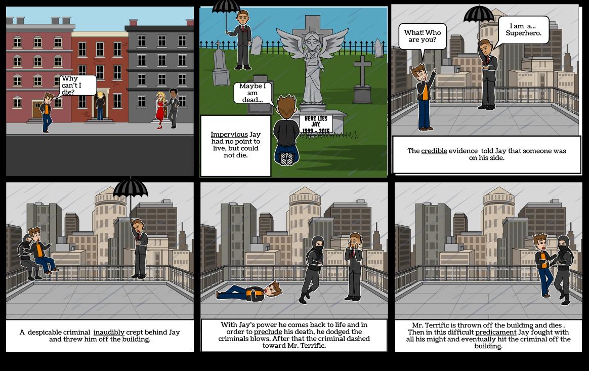 Zach Ebert's and Tyler's storyboard