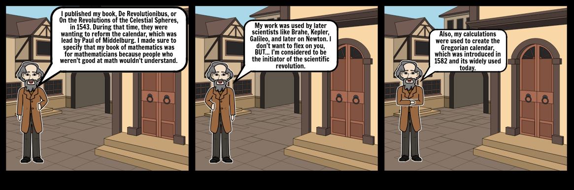 Nicolaus Copernicus Storyboard 2