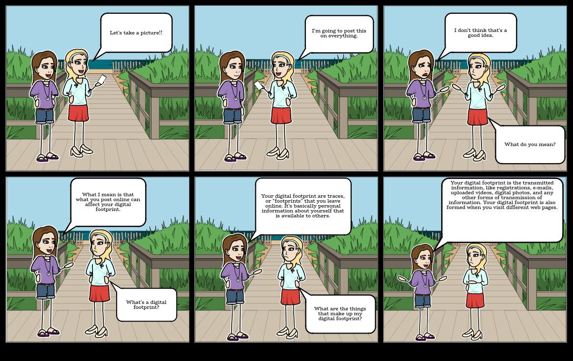 Zaira Mae V. Garcia - My Comic Strip