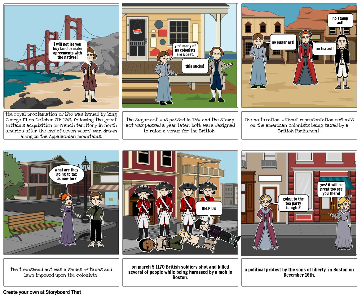 the road to revolution comic strip