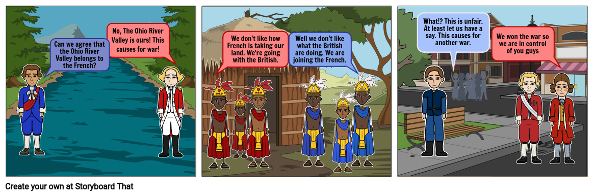 The causes and effects of the French and Indian War