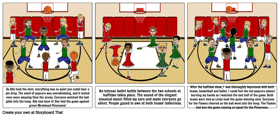 Basketball Storyboard By 25stn001