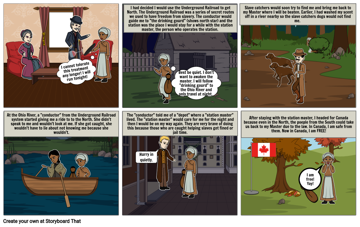 Escaping Slavery: The Underground Railroad