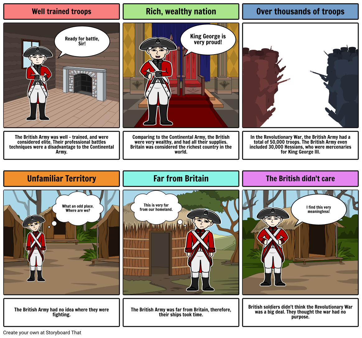 Coleman - Revolutionary War Comic