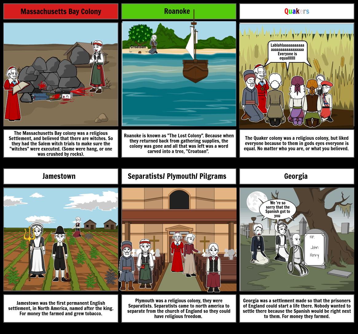 History Story board