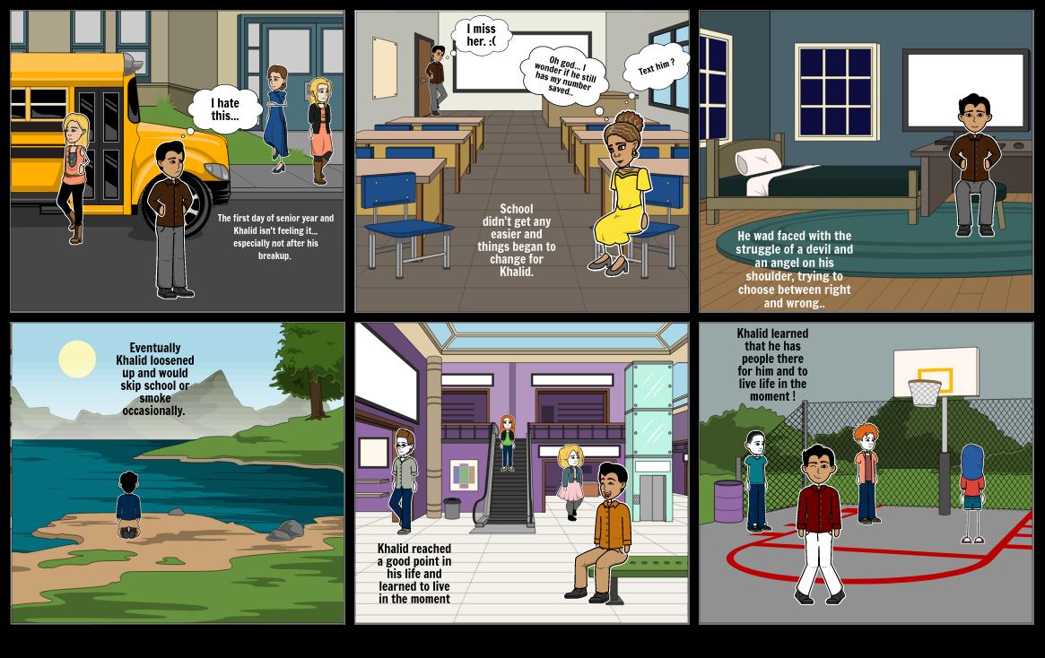 Literary Analysis Storyboard