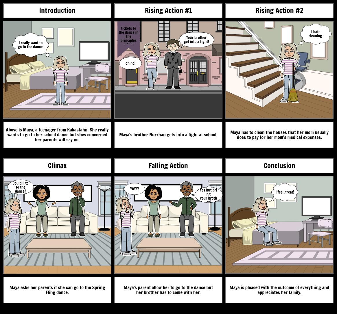My Favorite Chaperone Storyboard: Emma Sims P5