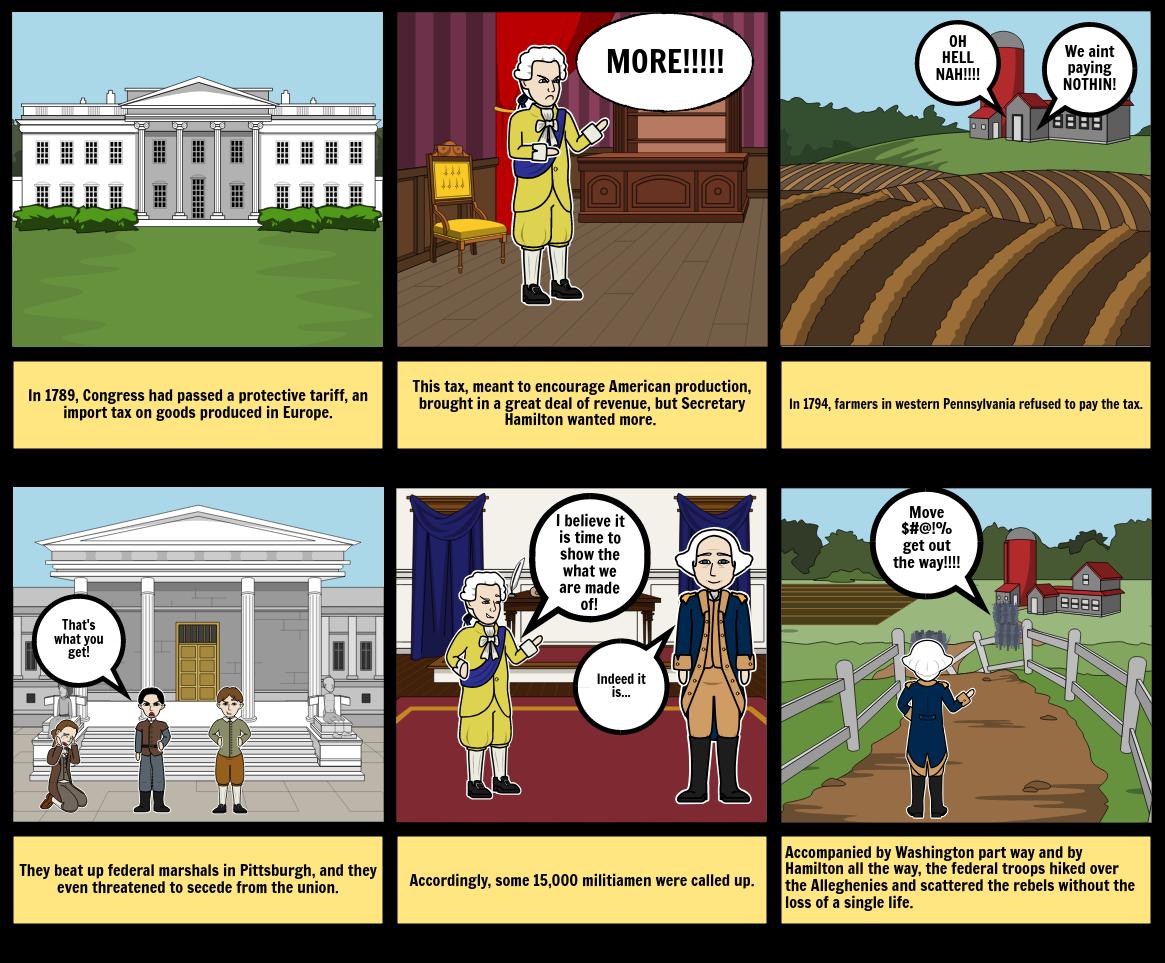 Us History comic strip Eddie