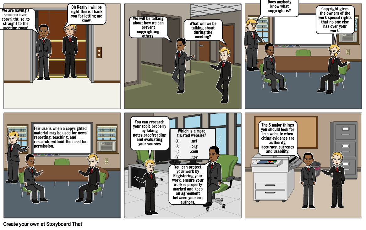 Copyright Comic Strip