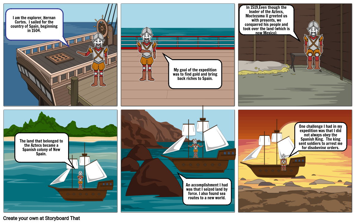 Explorers Comic Strip