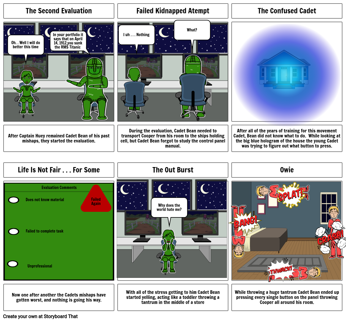 Lifted-Inference Storyboard Project