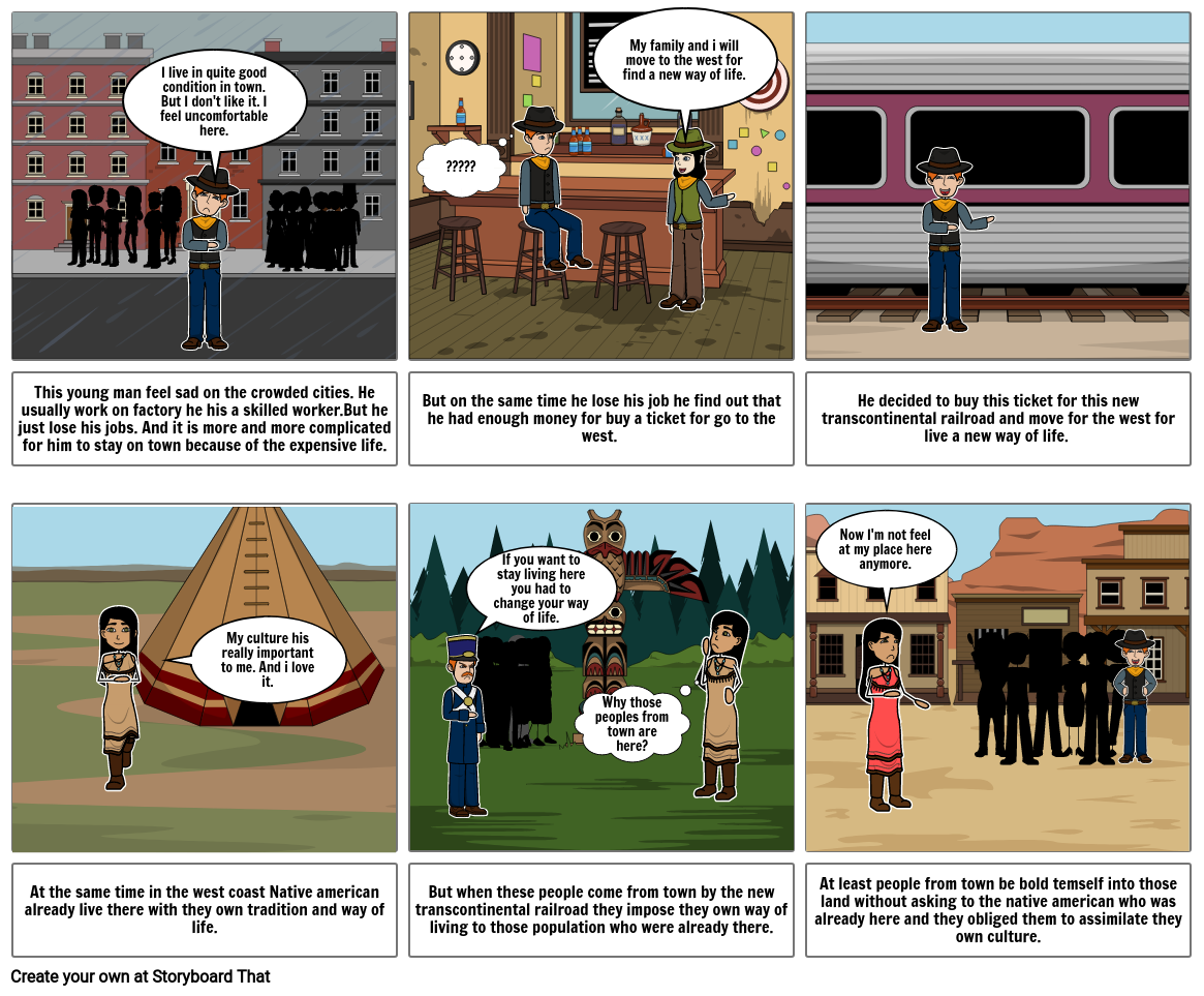 Assimilation and transcontinental railroad