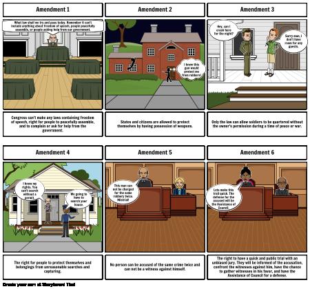 History Amendment Storyboard