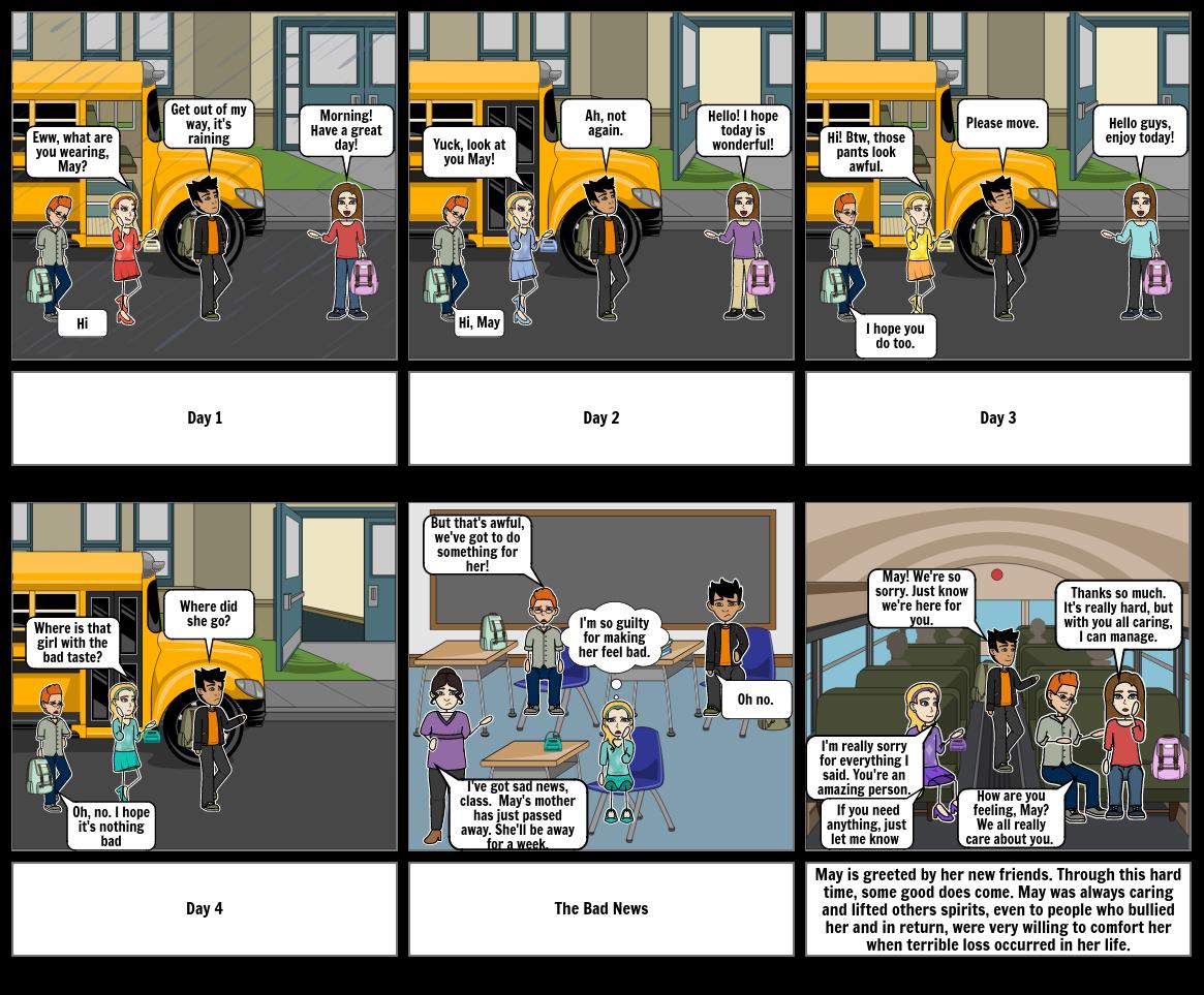 Drama Loss Storyboard