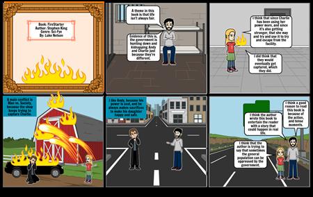 Firestarter Storyboard - Luke Nelson