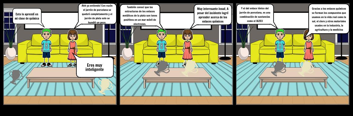 Historieta de los enlaces químicos parte 2