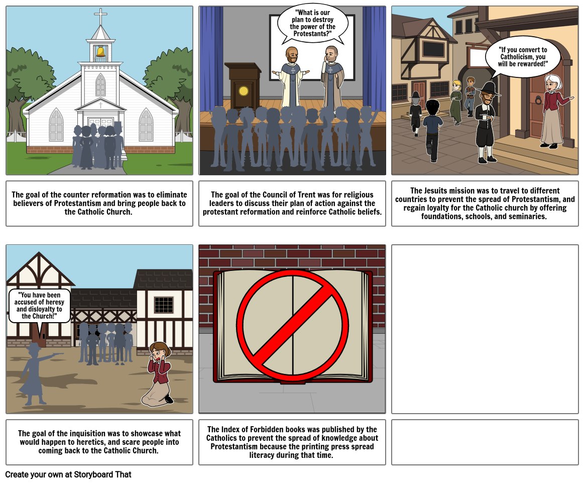 Counter Reformation Comic